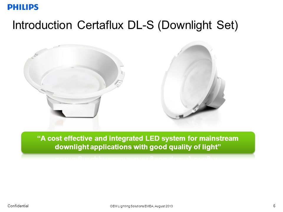 Introduction Certaflux DL-S (Downlight Set)