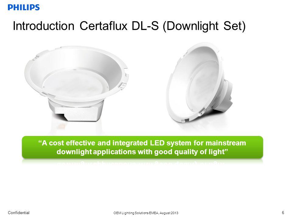 Introduction Certaflux DL-S (Downlight Set)