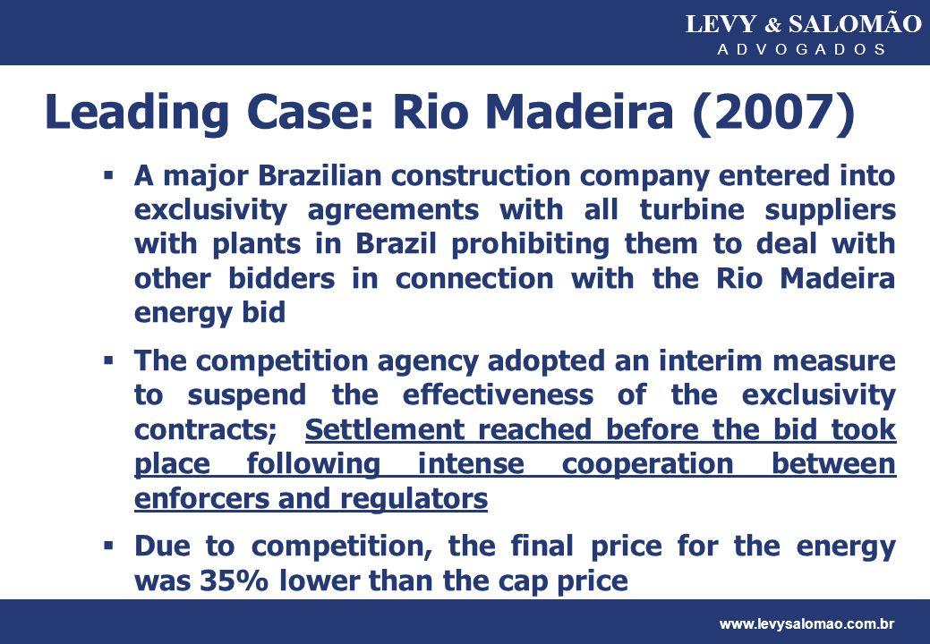 Leading Case: Rio Madeira (2007)