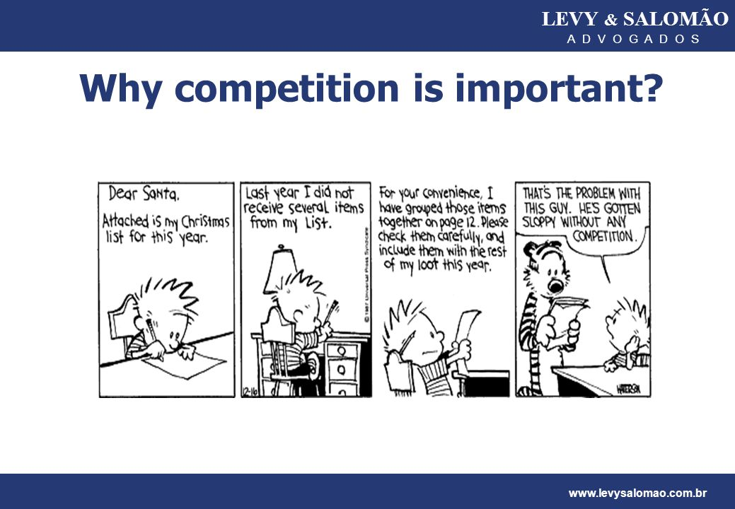 Why competition is important