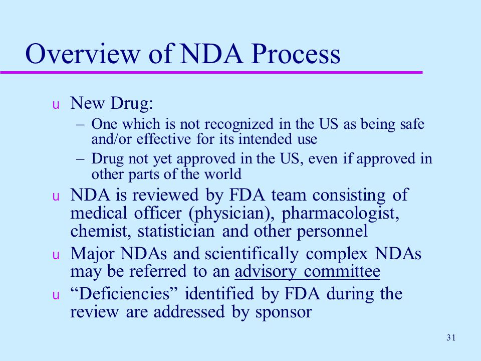 FDA OVERVIEW Protecting Consumers