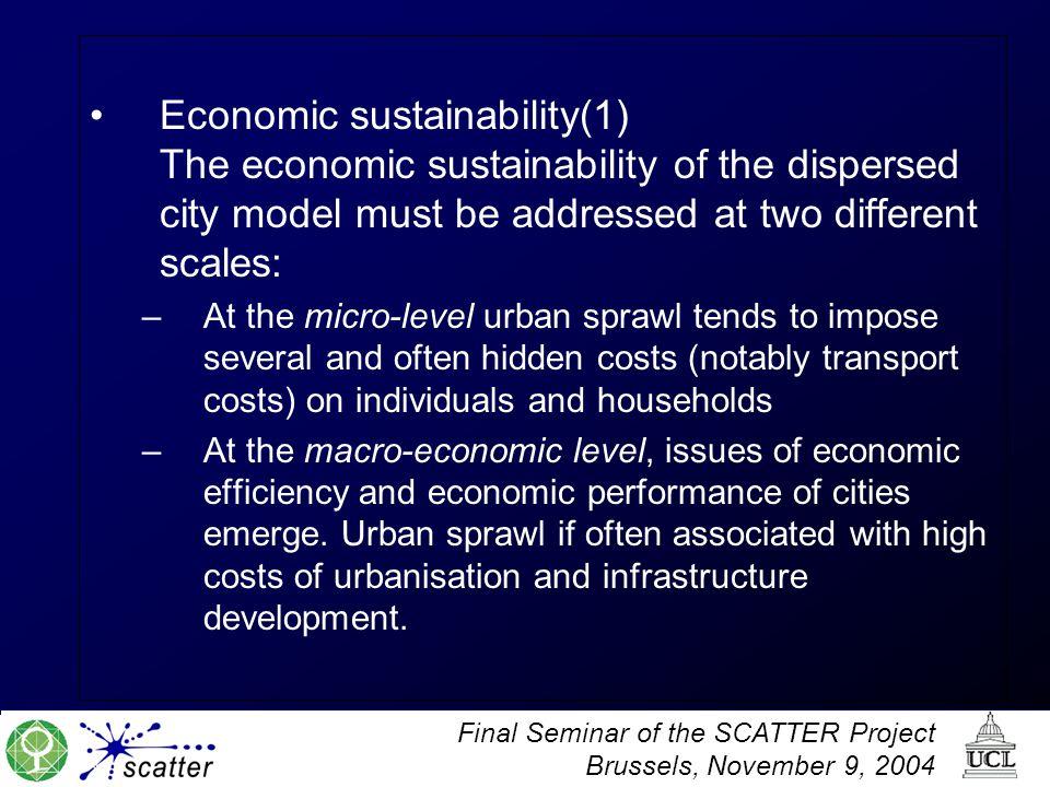 Economic sustainability(1)