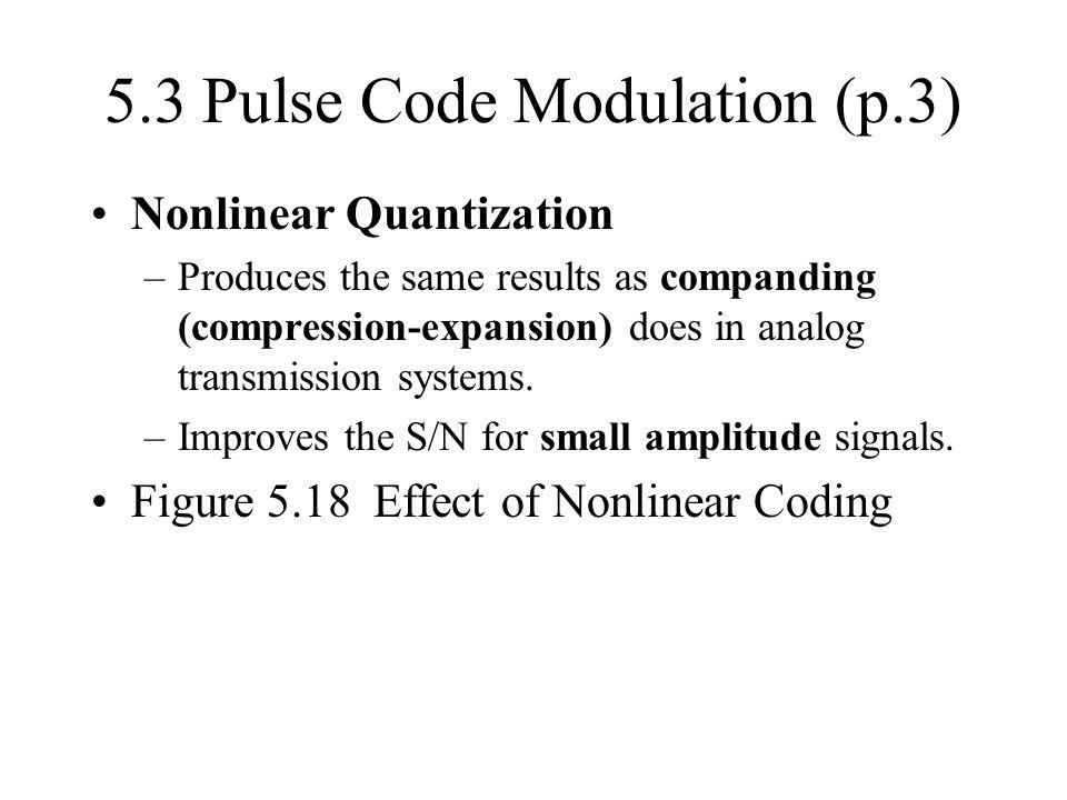 5.3 Pulse Code Modulation (p.3)