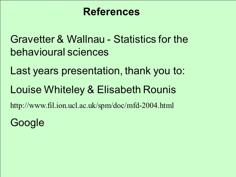 Gravetter & Wallnau - Statistics for the behavioural sciences