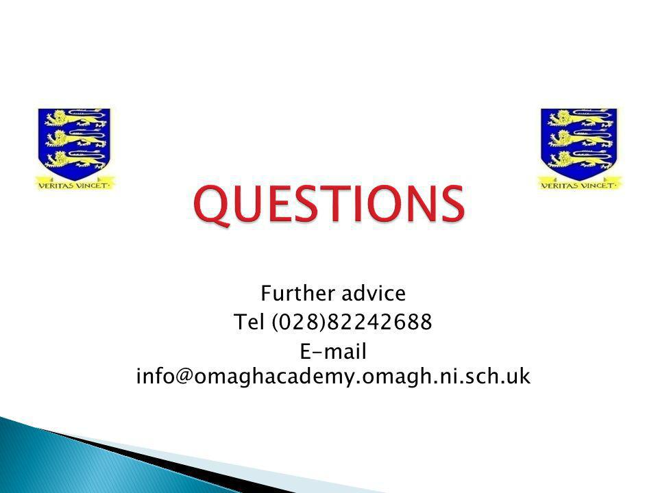 E-mail info@omaghacademy.omagh.ni.sch.uk