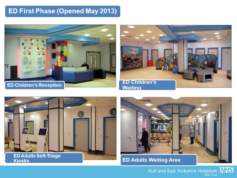 ED First Phase (Opened May 2013) ED Children's Reception