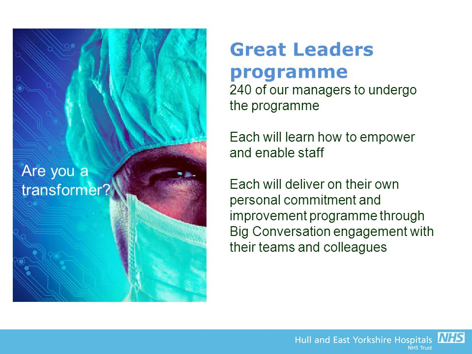 Great Leaders programme