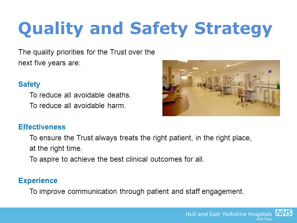 Quality and Safety Strategy