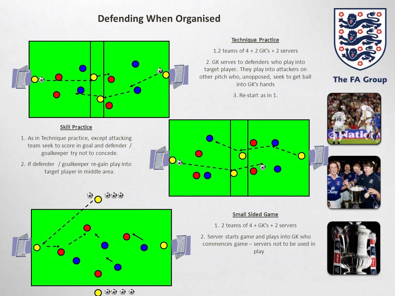 Defending When Organised