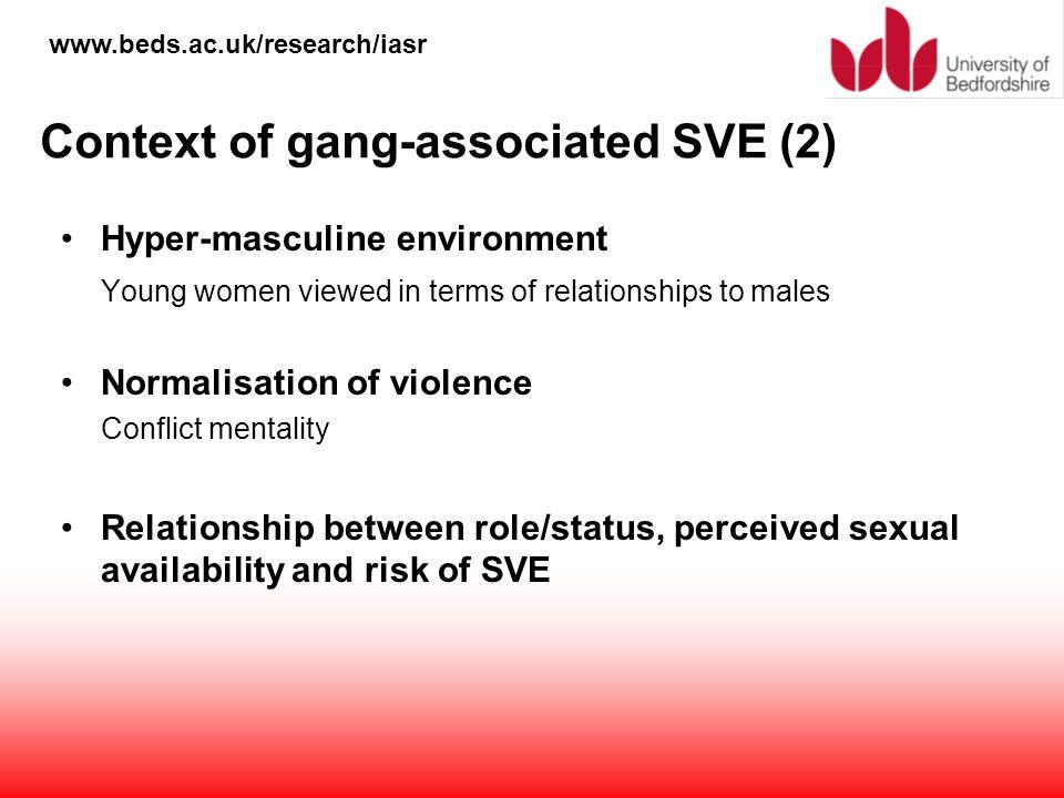Context of gang-associated SVE (2)