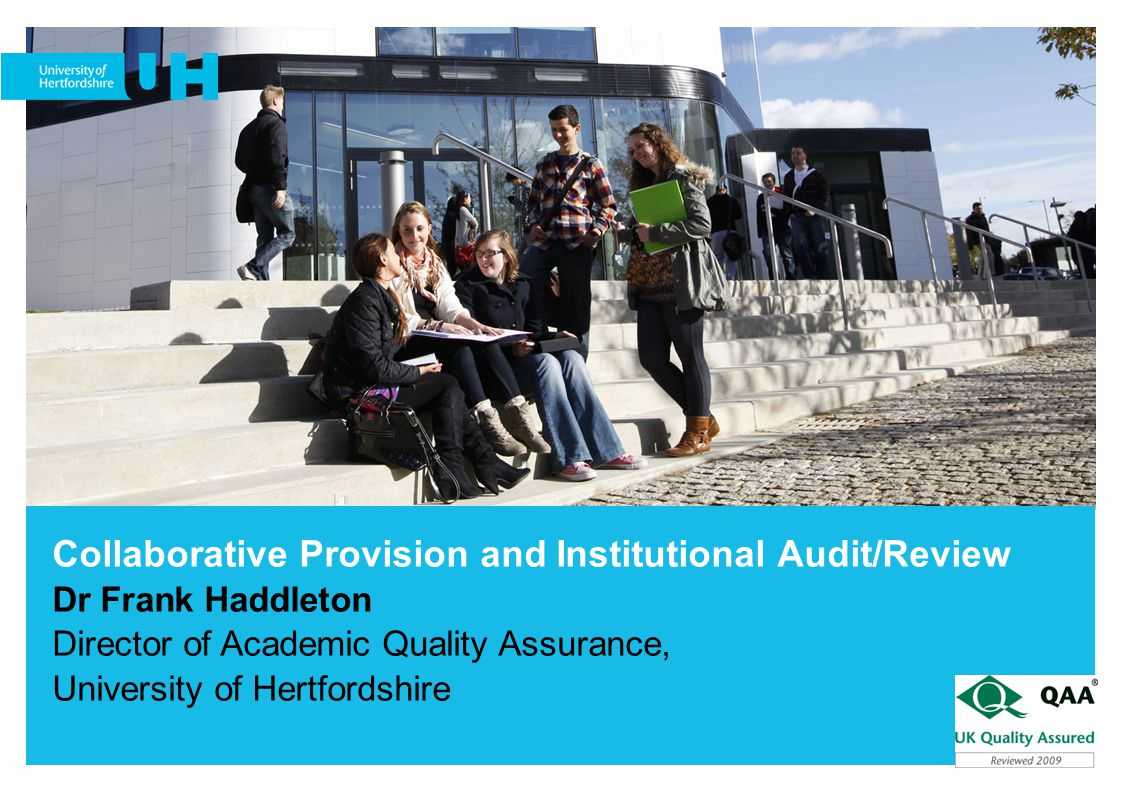 Collaborative Provision and Institutional Audit/Review