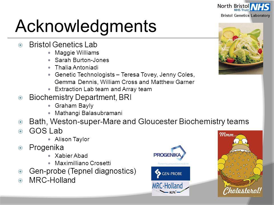Bristol Genetics Laboratory