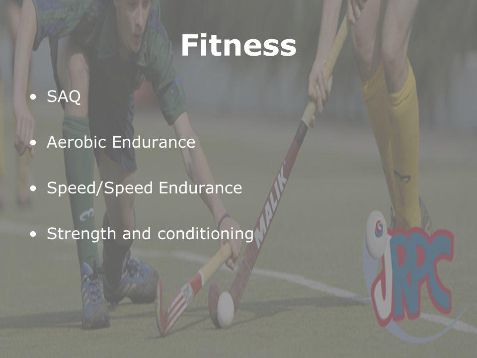 Fitness SAQ Aerobic Endurance Speed/Speed Endurance