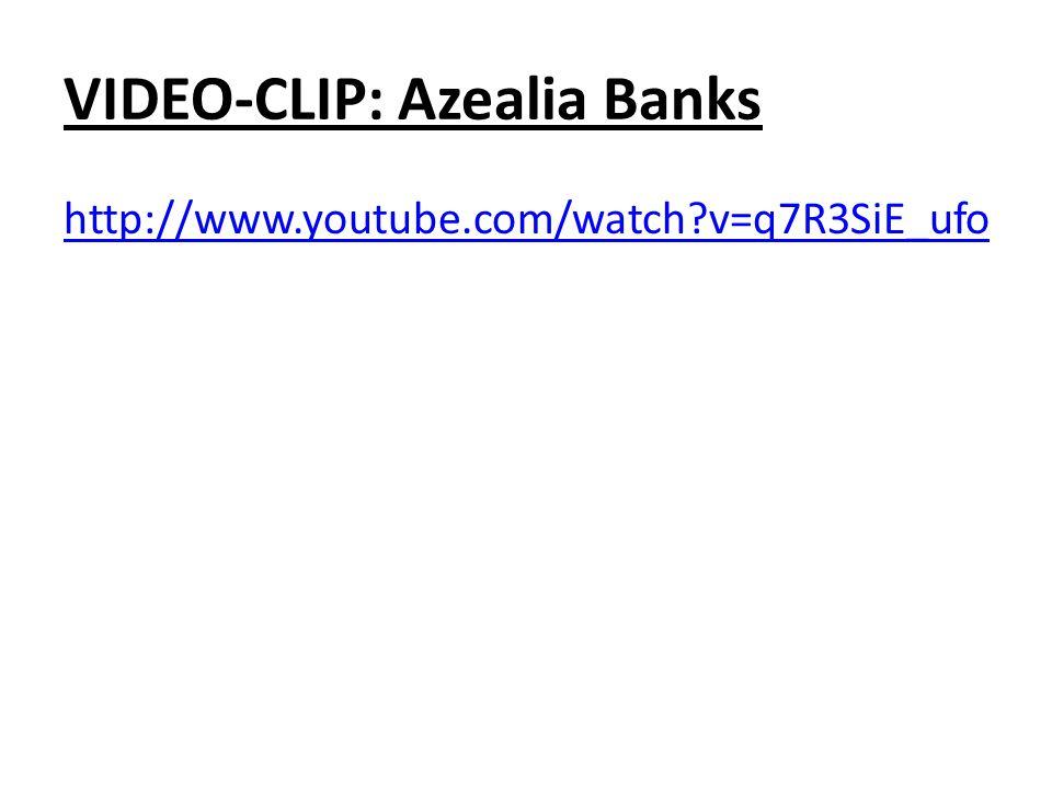 VIDEO-CLIP: Azealia Banks