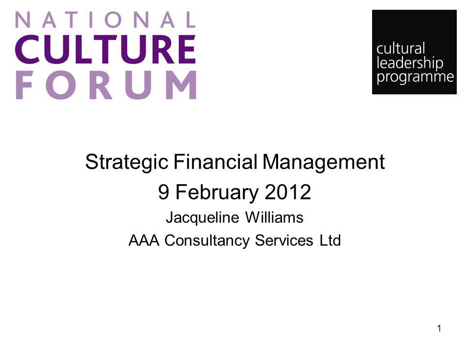 Strategic Financial Management 9 February 2012