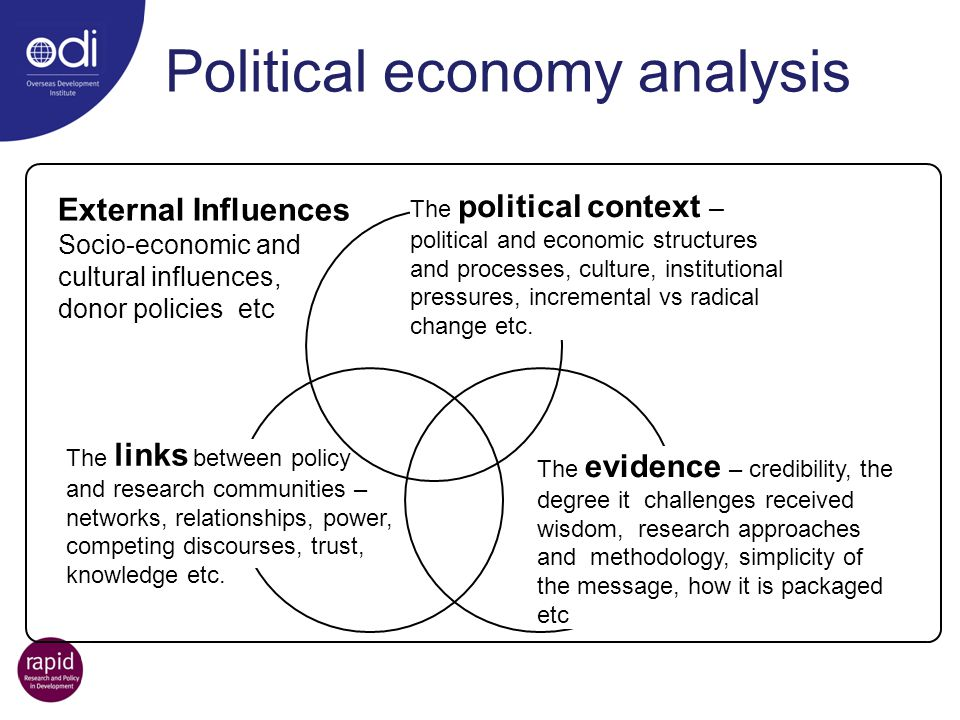 Political economy analysis