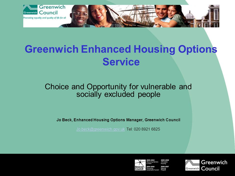 Greenwich Enhanced Housing Options Service