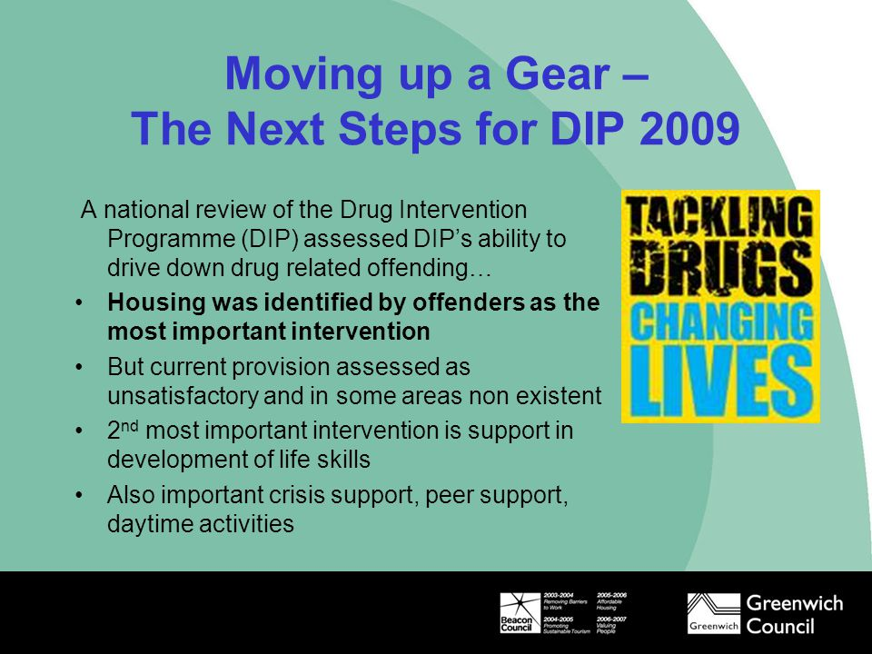 Moving up a Gear – The Next Steps for DIP 2009
