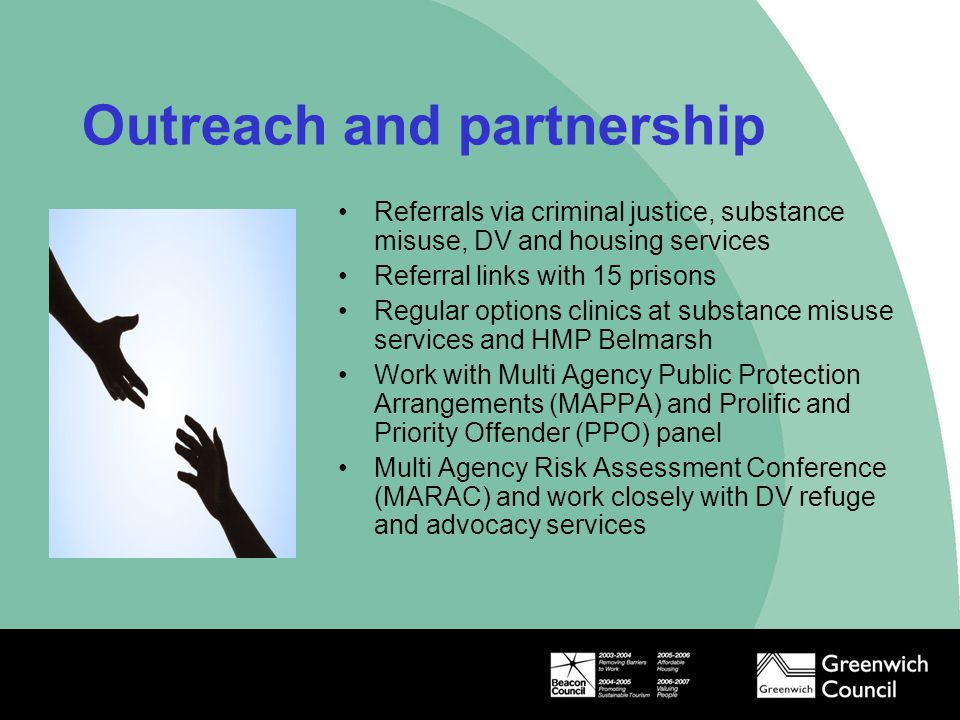 Outreach and partnership