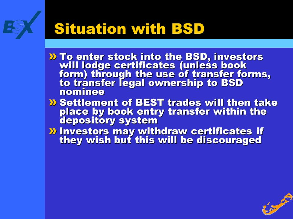 Situation with BSD