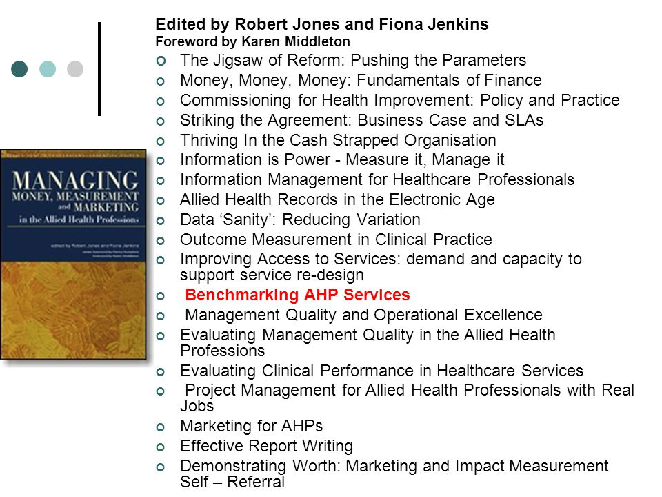 Edited by Robert Jones and Fiona Jenkins