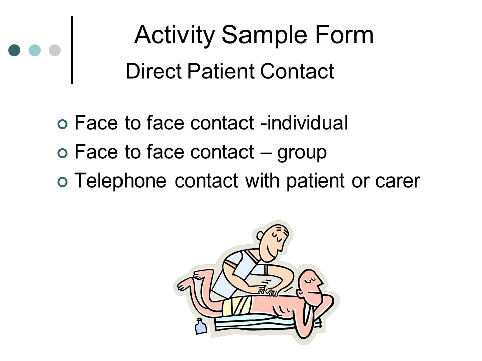 Direct Patient Contact