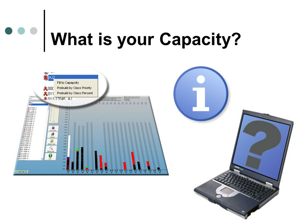 What is your Capacity