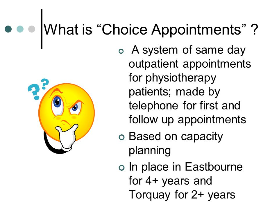 What is Choice Appointments