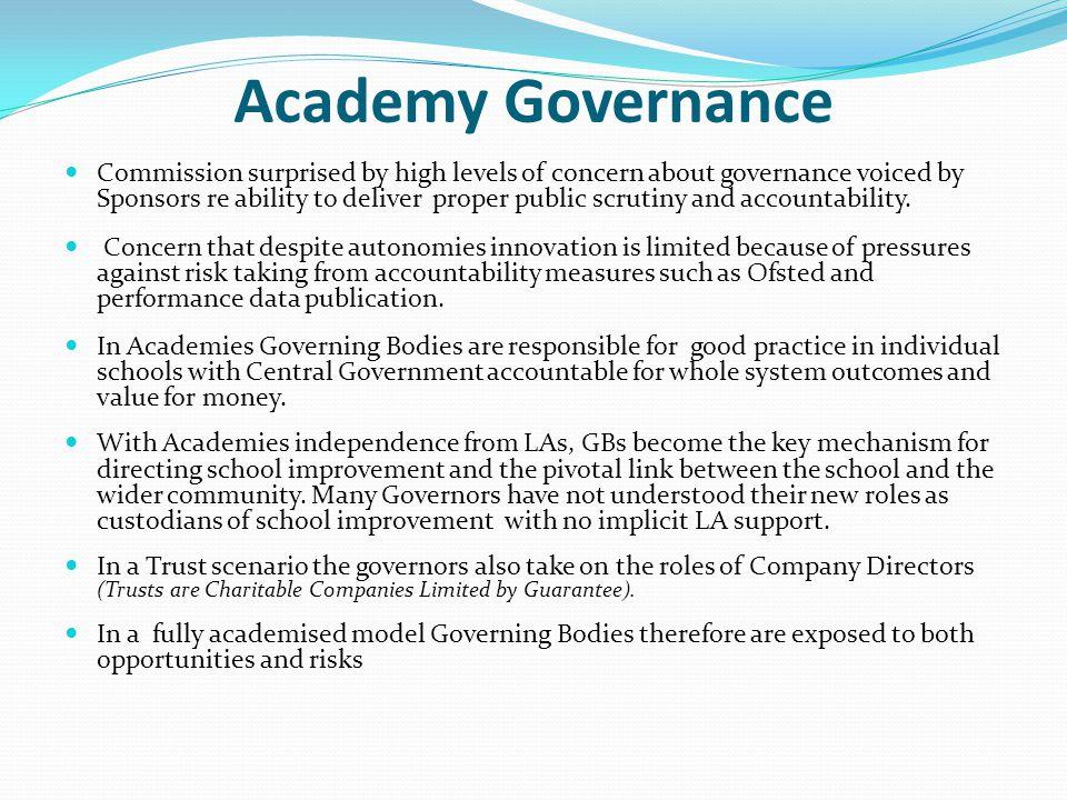 Academy Governance
