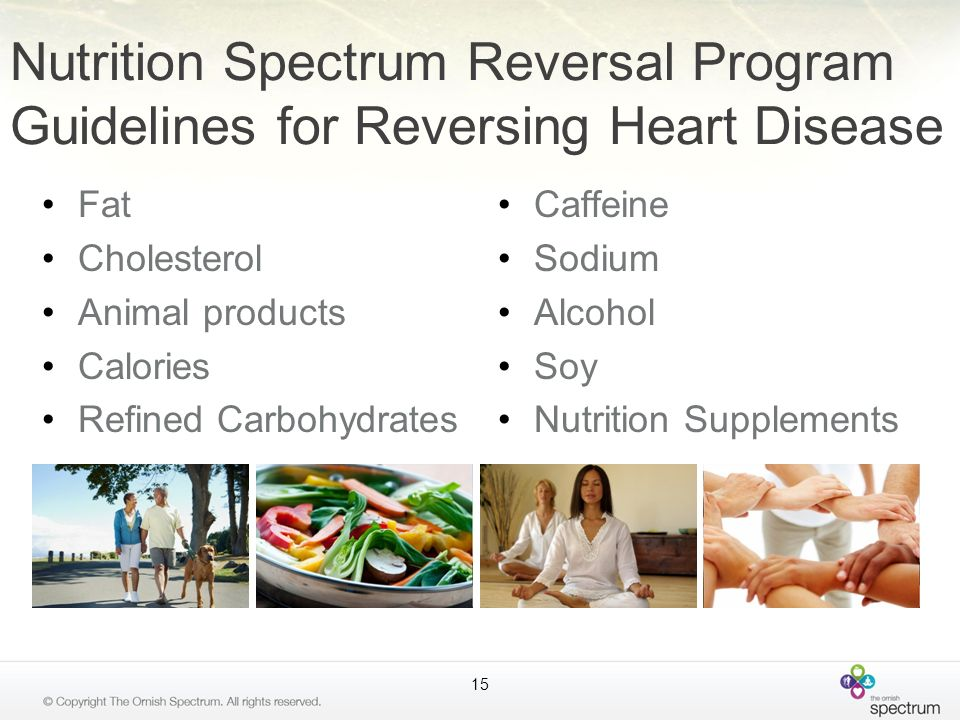 Nutrition Spectrum Reversal Program Guidelines for Reversing Heart Disease