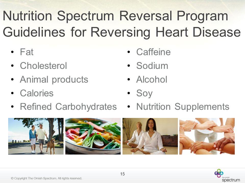 Nutrition Spectrum Reversal Program Guidelines for Reversing Heart Disease