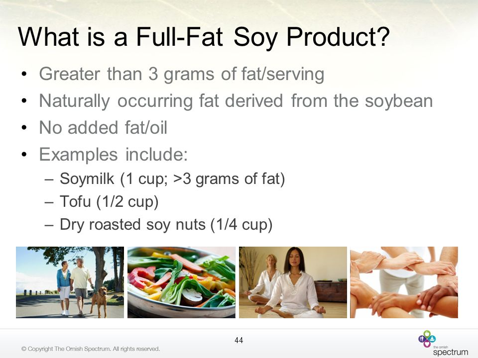 What is a Full-Fat Soy Product