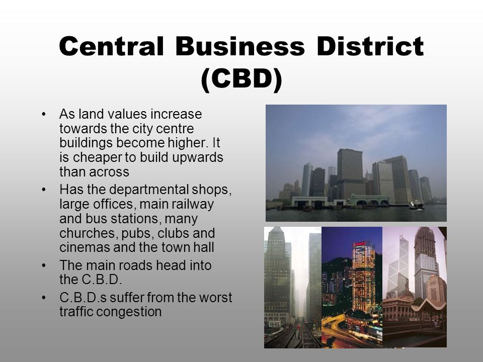 Central Business District (CBD)