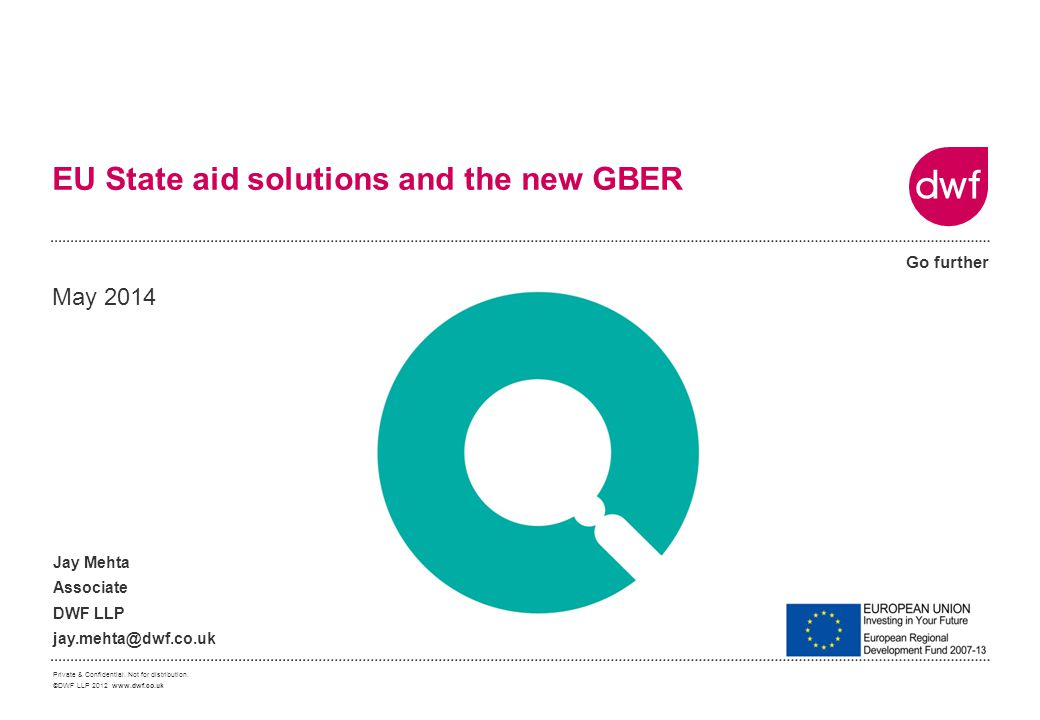 EU State aid solutions and the new GBER