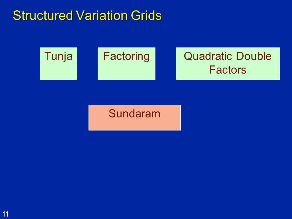 Structured Variation Grids