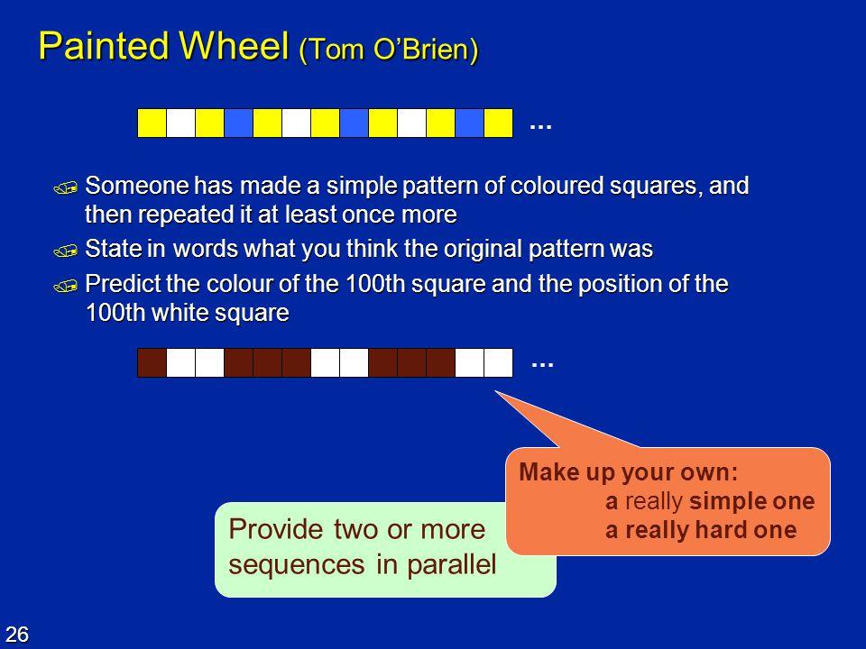 Painted Wheel (Tom O'Brien)