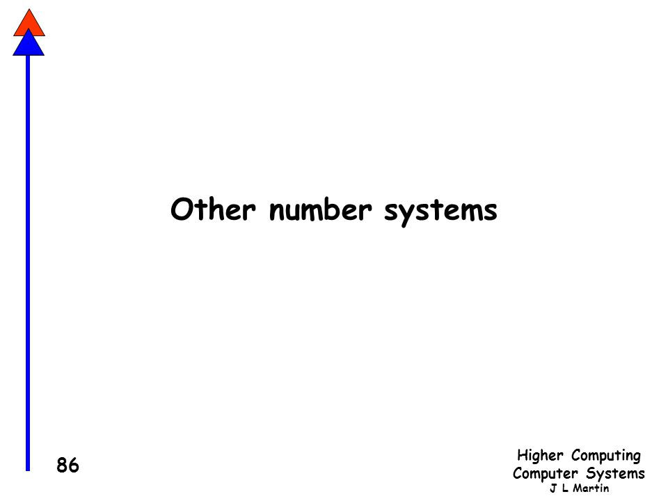 Other number systems