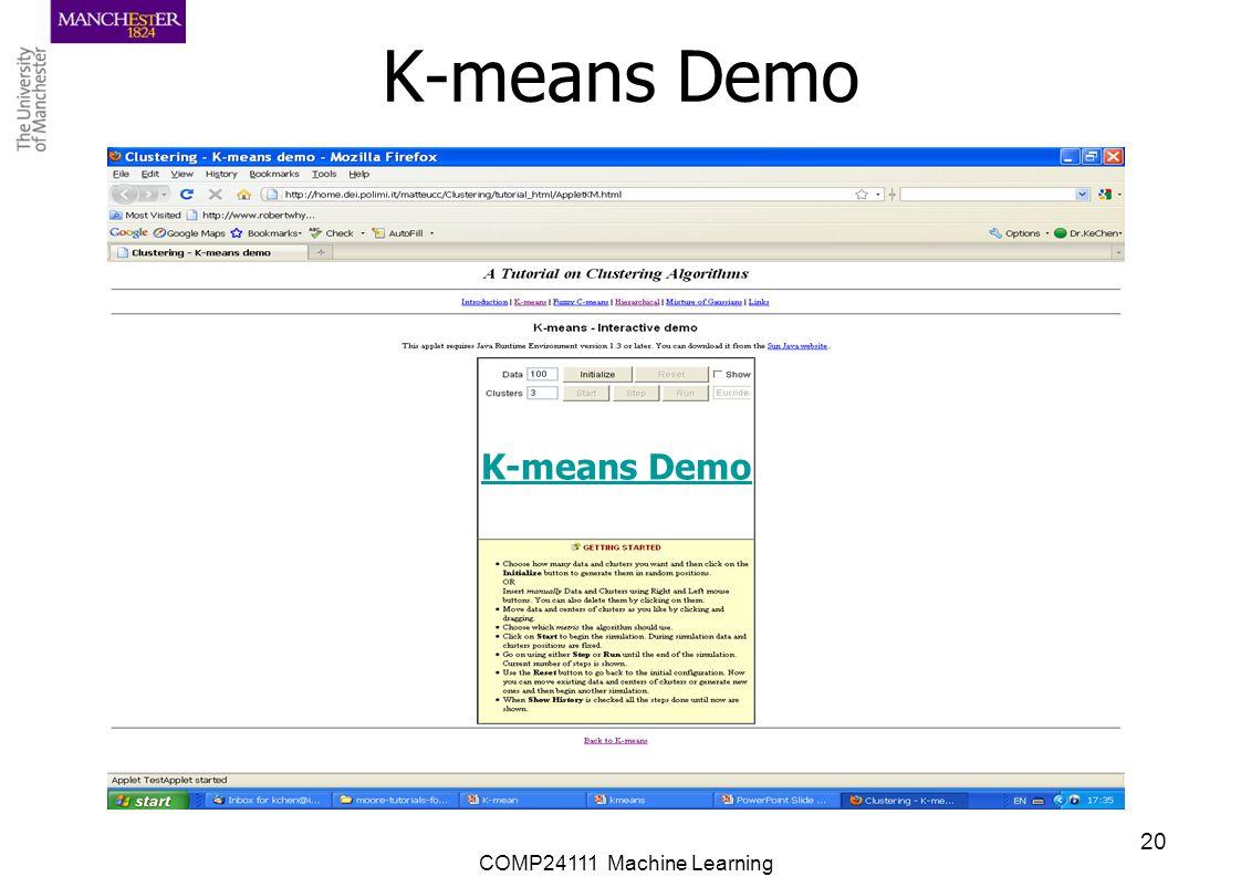 K-means Demo K-means Demo