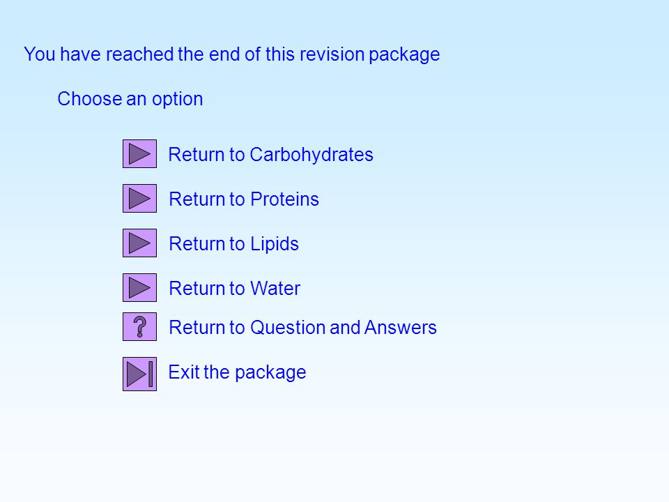 You have reached the end of this revision package