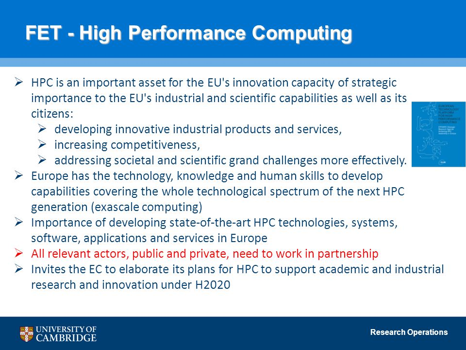 FET - High Performance Computing