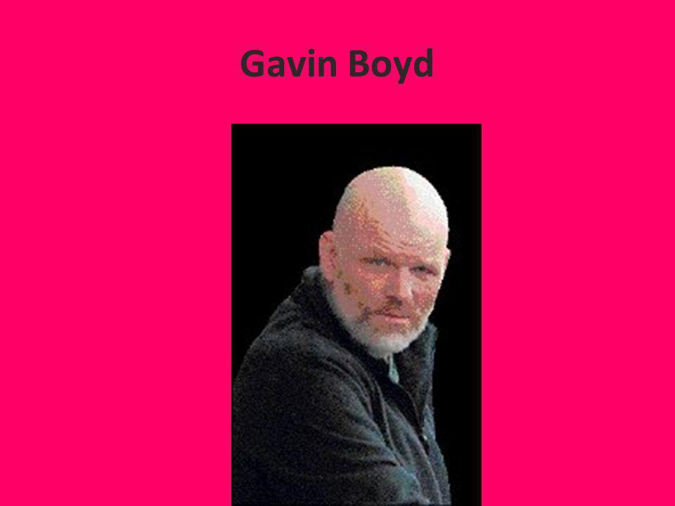 Gavin Boyd
