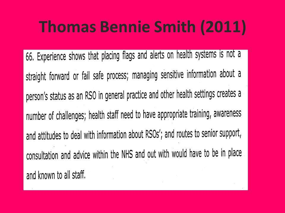 Thomas Bennie Smith (2011)