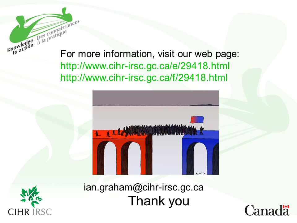 Thank you For more information, visit our web page: