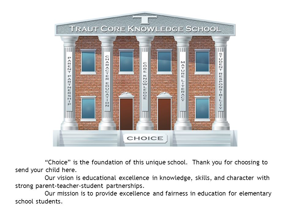 Choice is the foundation of this unique school