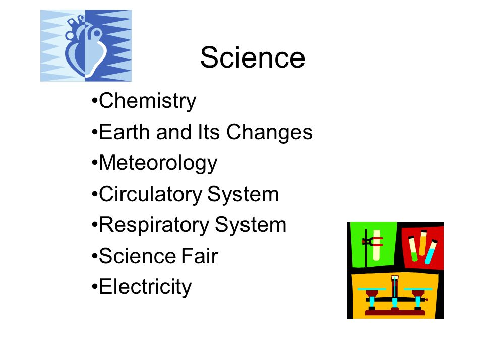 Science Chemistry Earth and Its Changes Meteorology Circulatory System