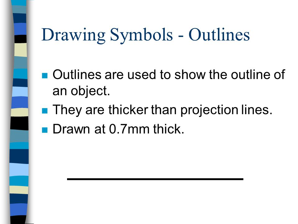 Drawing Symbols - Outlines