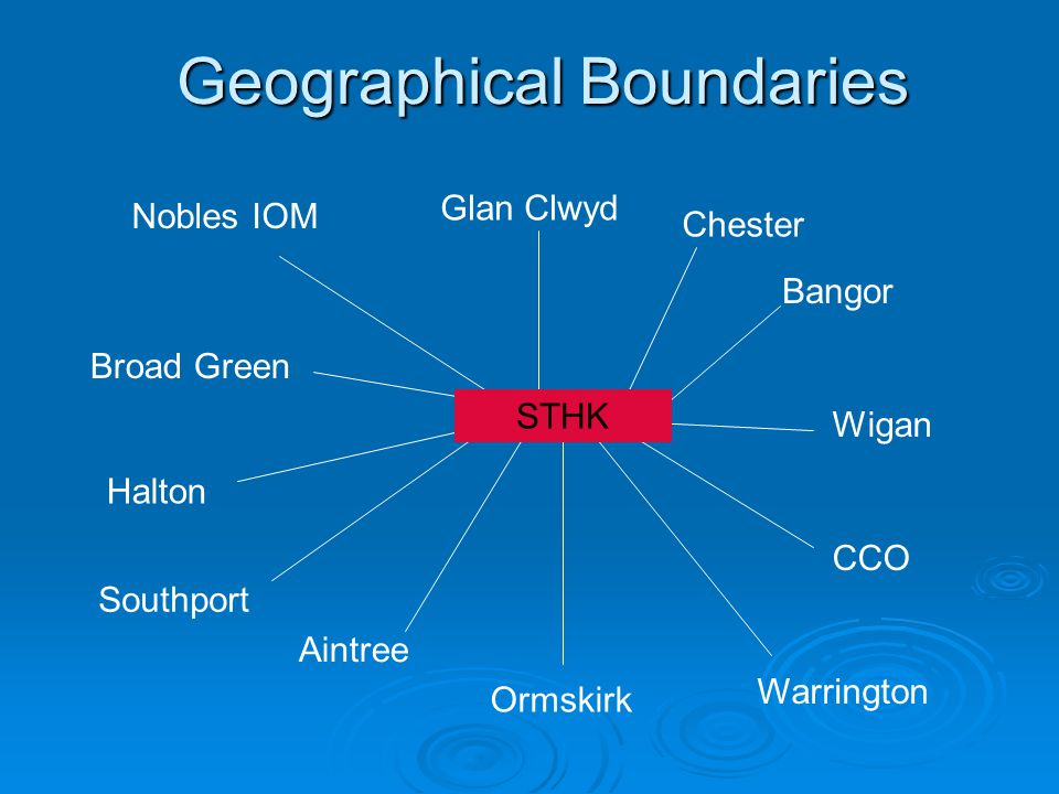 Geographical Boundaries