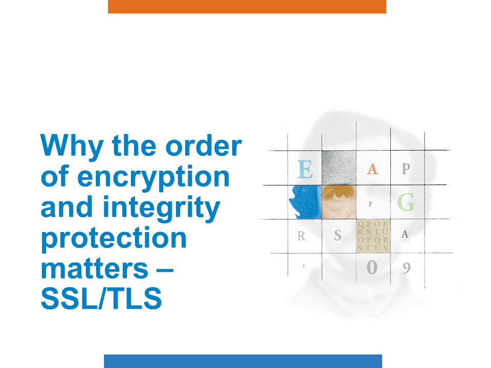 SSL/TLS Overview SSL = Secure Sockets Layer.