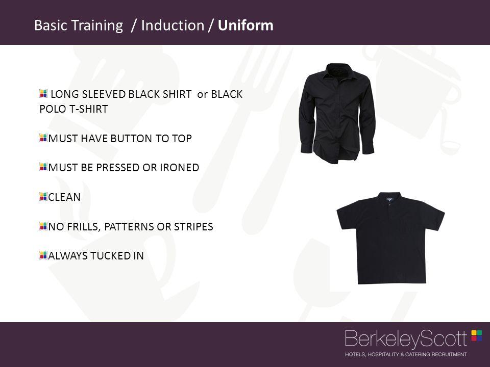 Basic Training / Induction / Uniform