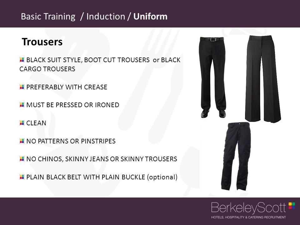 Trousers Basic Training / Induction / Uniform